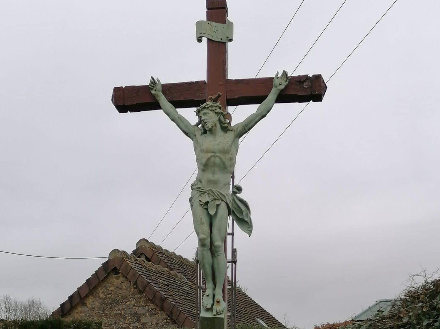réfection de la croix